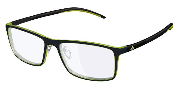 Adidas Model: A 692 ADIDAS LITE FIT, Colour Code: 6063, Frame Colour: TRIBE GREEN BLACK