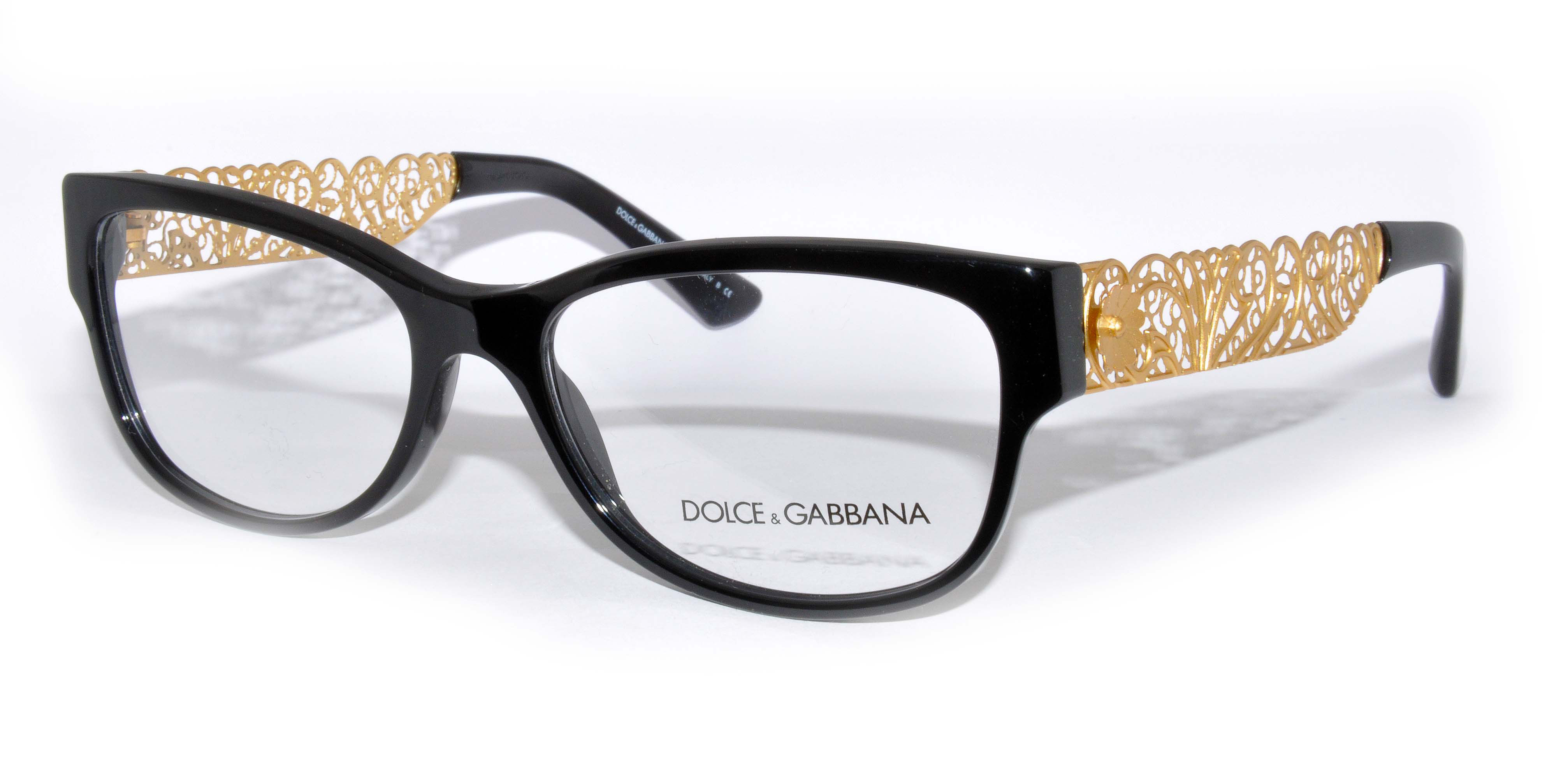 Dolce And Gabbana Gold Frame Glasses : Dolce &Gabbana glasses - Dolce &Gabbana DG 3185 FILIGRANA ...