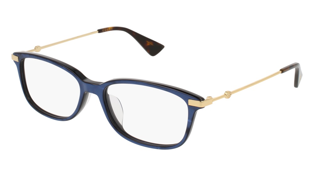 Gucci Model: GG 01120A, Colour Code: 004, Frame Colour: BLUE