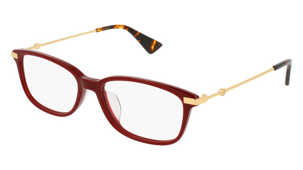 Gucci Model: GG 01120A, Colour Code: 005, Frame Colour: BURGUNDY