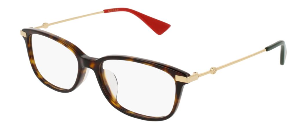 Gucci Model: GG 01120A, Colour Code: 002, Frame Colour: HAVANA GOLD