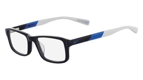 Nike Model: NIKE 5537, Colour Code: 411, Frame Colour: MIDNIGHT NAVY PHOTO BLUE