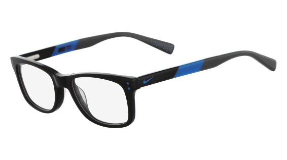 Nike Model: NIKE 5538, Colour Code: 013, Frame Colour: BLACK PHOTO BLUE