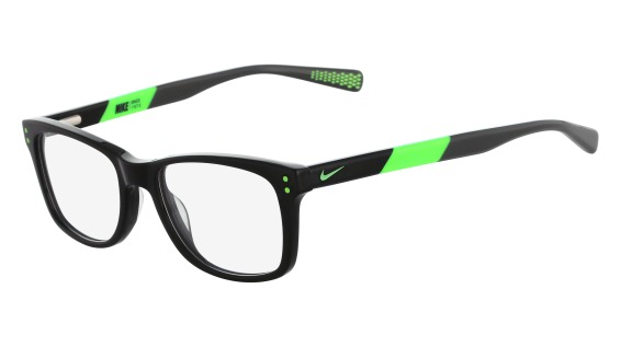 Nike Model: NIKE 5538, Colour Code: 001, Frame Colour: BLACK FLASH LIME