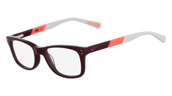 Nike Model: NIKE 5538, Colour Code: 605, Frame Colour: TEAM RED BRIGHT CRIMSON