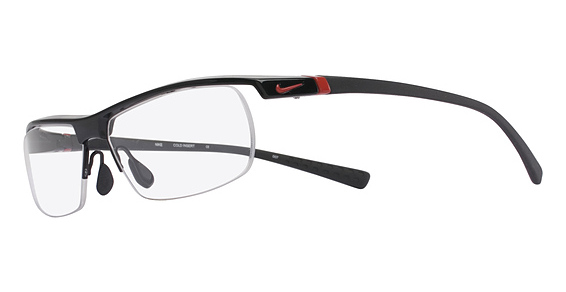Nike Model: NIKE 7071/2, Colour Code: 002, Frame Colour: GLOSS BLACK