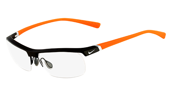 Nike Model: NIKE 7071/2, Colour Code: 075, Frame Colour: DARK GREY ORANGE