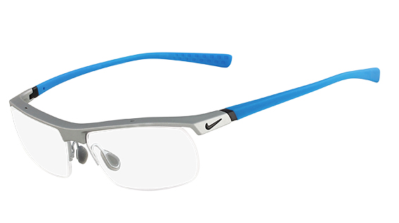 Nike Model: NIKE 7071/2, Colour Code: 080, Frame Colour: MATTE PLATIUM STALE BLUE