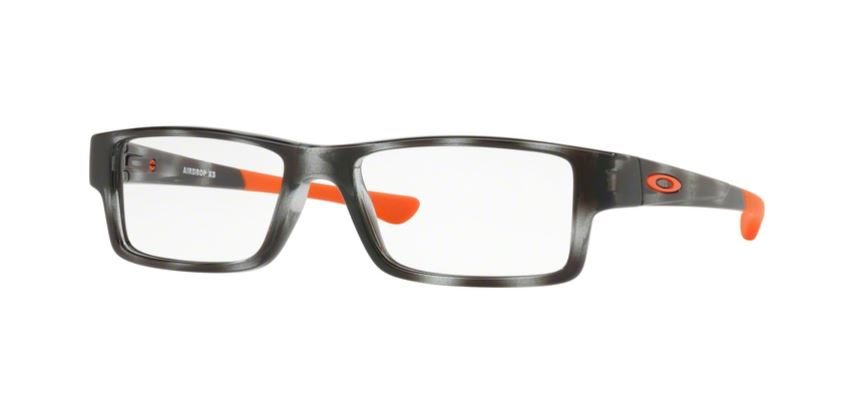 Oakley Model: AIRDROP XS OY8003, Colour Code: 08, Frame Colour: POLISHED GREY TORT
