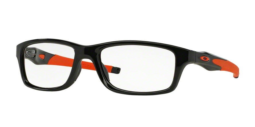 oakley sunglasses black orange  oakley model: crosslink 8030, colour code: 803007, frame colour: polished black
