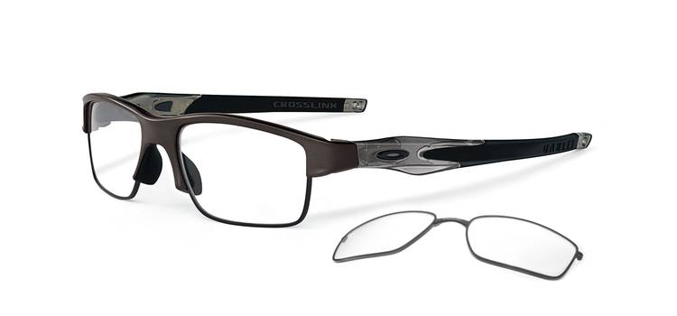 Oakley Model: CROSSLINK SWITCH 3128, Colour Code: 02, Frame Colour: PEWTER
