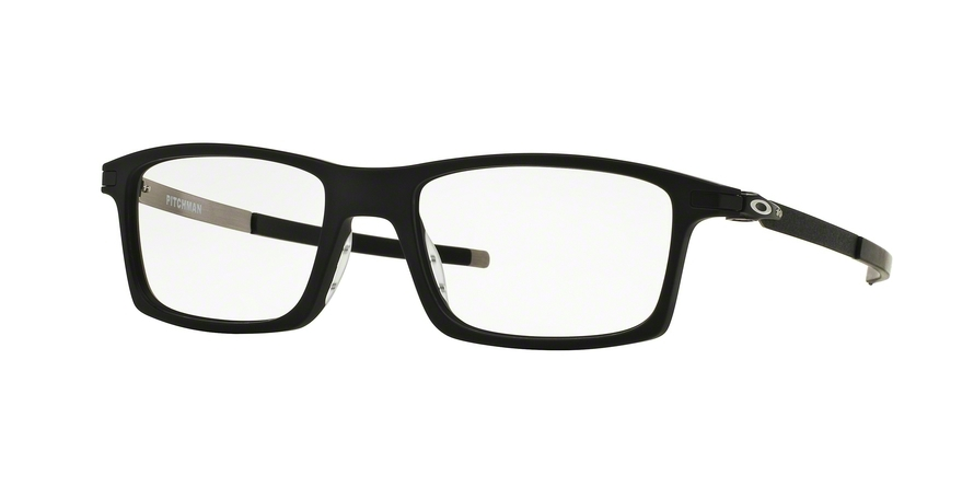Oakley Model: PITCHMAN OX8050, Colour Code: 01, Frame Colour: SATIN BLACK