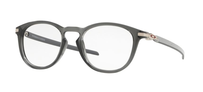 Oakley Model: PITCHMAN R CARBON 8149, Colour Code: 04, Frame Colour: POLISHED GREY SMOKE