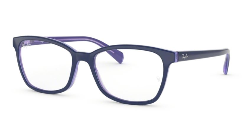 Ray-Ban Model: RB 5362, Colour Code: 5776, Frame Colour: Top blue on transparent