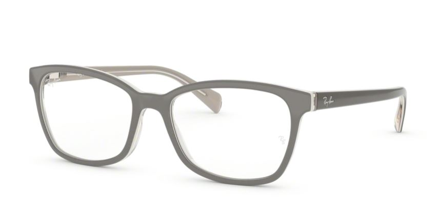 Ray-Ban Model: RB 5362, Colour Code: 5778, Frame Colour: Top grey on transparent
