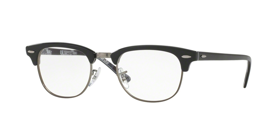 Ray-Ban Model: RX 5154 CLUBMASTER, Colour Code: 5649, Frame Colour: Black texture camouflage