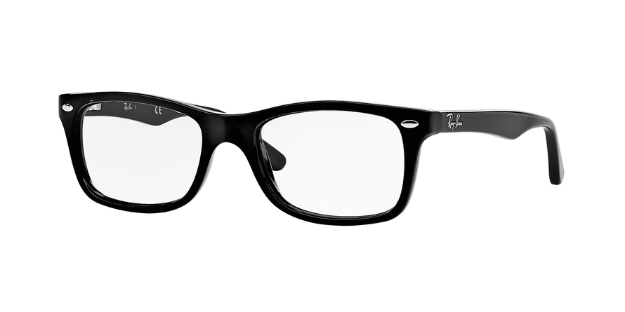 Ray-Ban Model: RX 5228, Colour Code: 2000, Frame Colour: SHINY BLACK