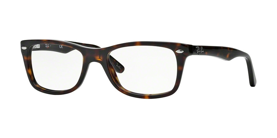 Ray-Ban Model: RX 5228, Colour Code: 2012, Frame Colour: DARK HAVANA