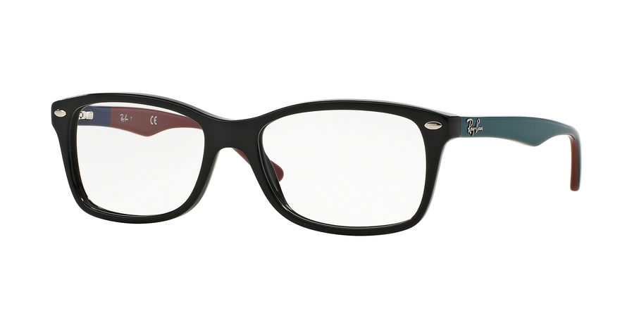 Ray-Ban Model: RX 5228, Colour Code: 5544, Frame Colour: BLACK