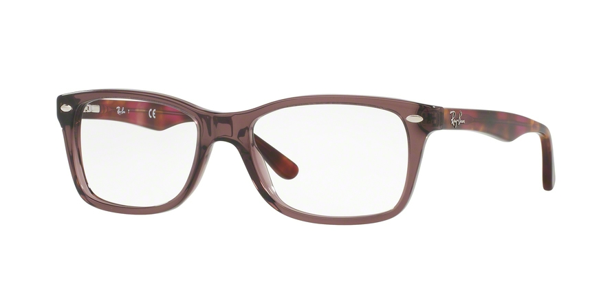 Ray-Ban Model: RX 5228, Colour Code: 5628, Frame Colour: OPAL BROWN