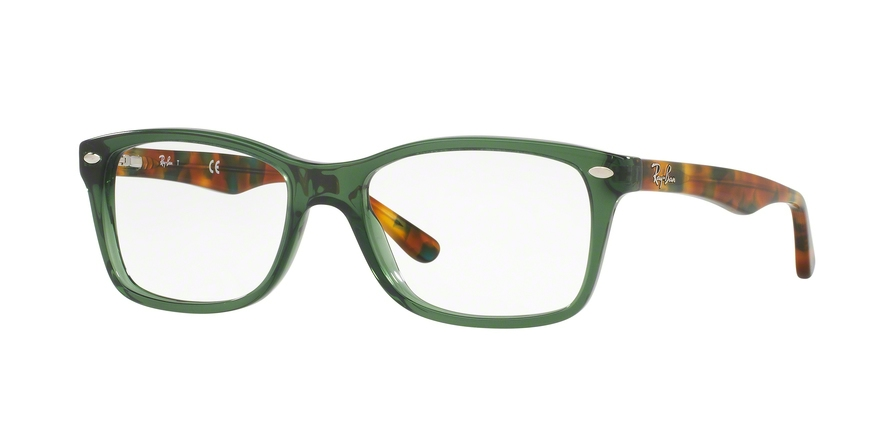 Ray-Ban Model: RX 5228, Colour Code: 5630, Frame Colour: Opal green