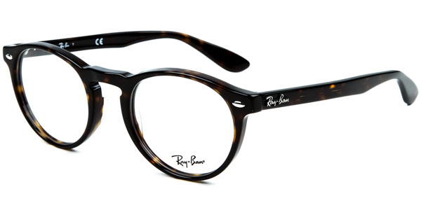 Ray-Ban Model: RX 5283, Colour Code: 2012, Frame Colour: Dark Havana