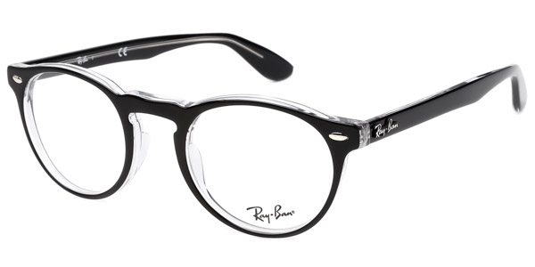 Ray-Ban Model: RX 5283, Colour Code: 2034, Frame Colour: Black Crystal