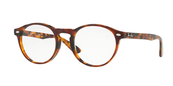 Ray-Ban Model: RX 5283, Colour Code: 5675, Frame Colour: Havana Yellow