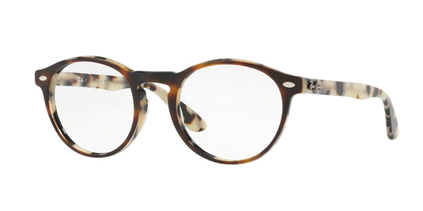 Ray-Ban Model: RX 5283, Colour Code: 5676, Frame Colour: Havana Brown beige