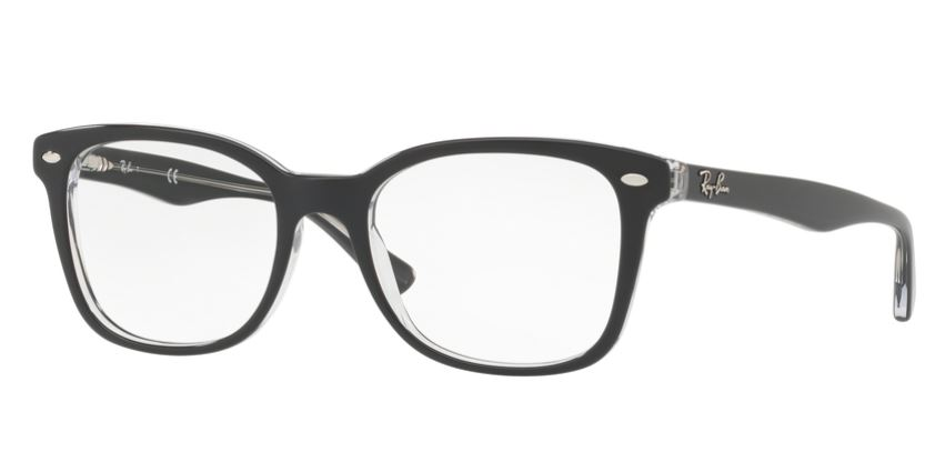 Ray-Ban Model: RX 5285, Colour Code: 5764, Frame Colour: TOP GREY ON TRANSPARENT