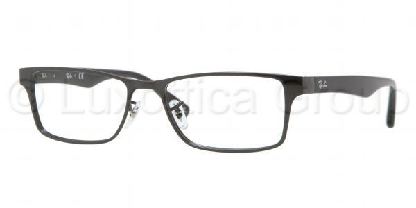 Ray-Ban Model: RX 6238, Colour Code: 2509, Frame Colour: SHINY BLACK