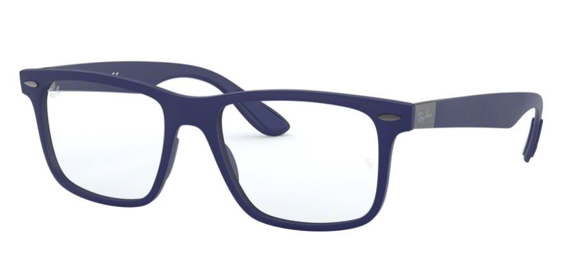 Ray-Ban Model: RX 7165, Colour Code: 5207, Frame Colour: SAND BLUE