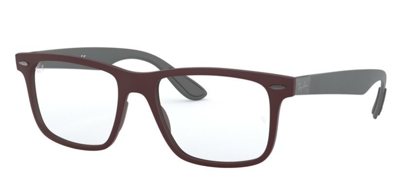 Ray-Ban Model: RX 7165, Colour Code: 5771, Frame Colour: SAND DARK VIOLET