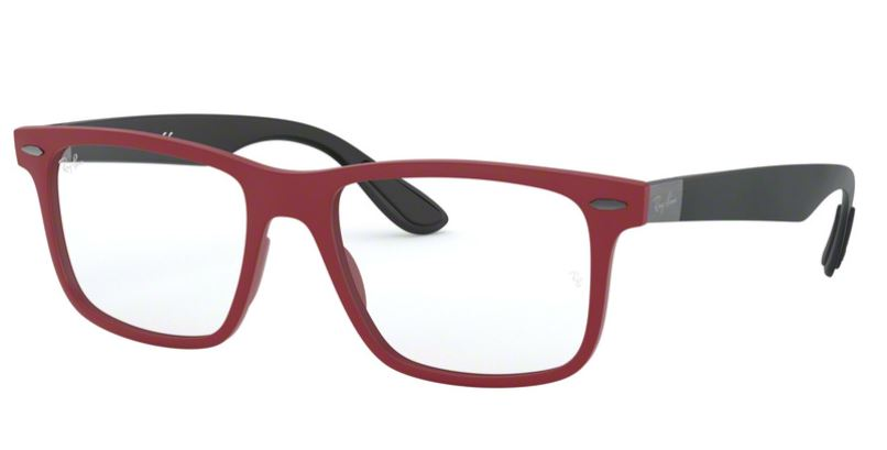 Ray-Ban Model: RX 7165, Colour Code: 5772, Frame Colour: SAND RED
