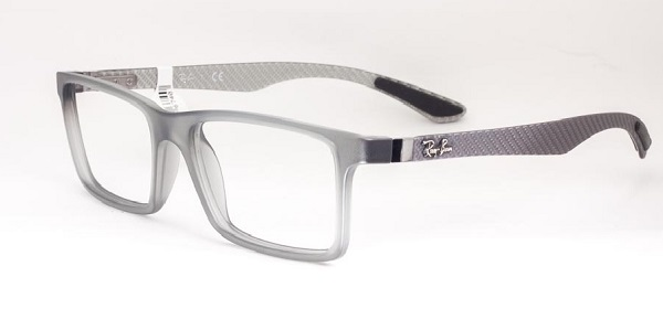 Ray-Ban Model: RX 8901, Colour Code: 5244, Frame Colour: DEMI GLOSS GREY