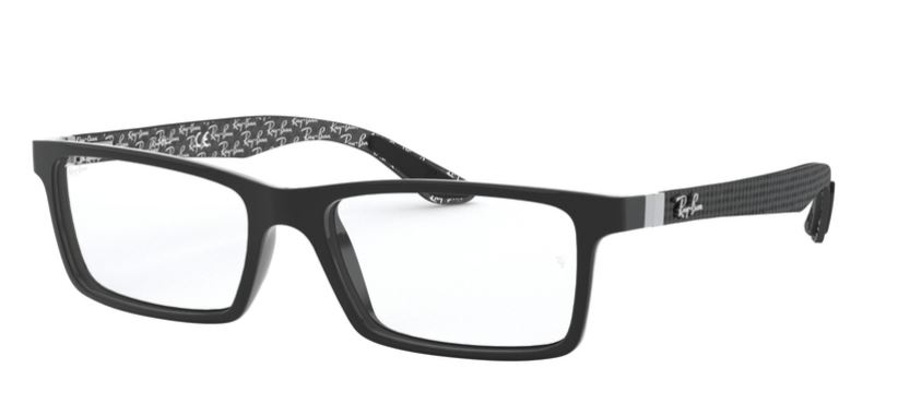 Ray-Ban Model: RX 8901, Colour Code: 5610, Frame Colour: TOP BLACK ON SHINY GREY