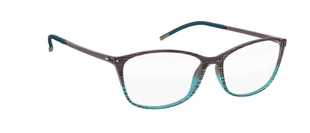Silhouette Model: Illusion 1563, Colour Code: 6052, Frame Colour: Aqua
