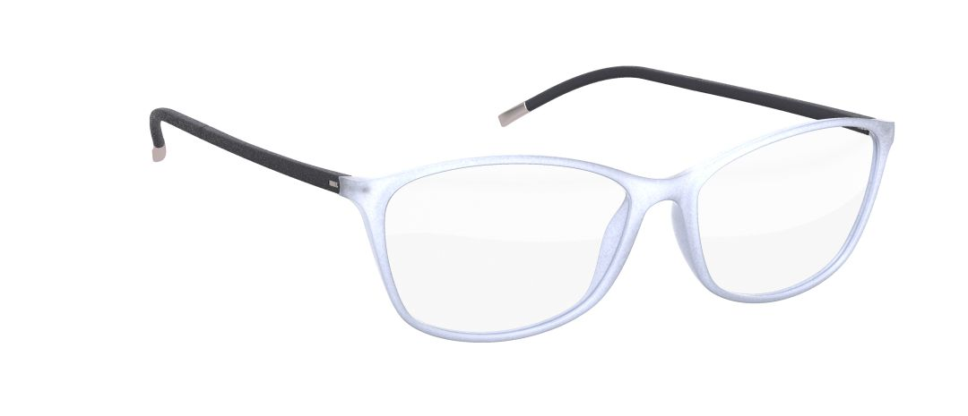 Silhouette Model: Illusion 1563, Colour Code: 6106, Frame Colour: Cream White