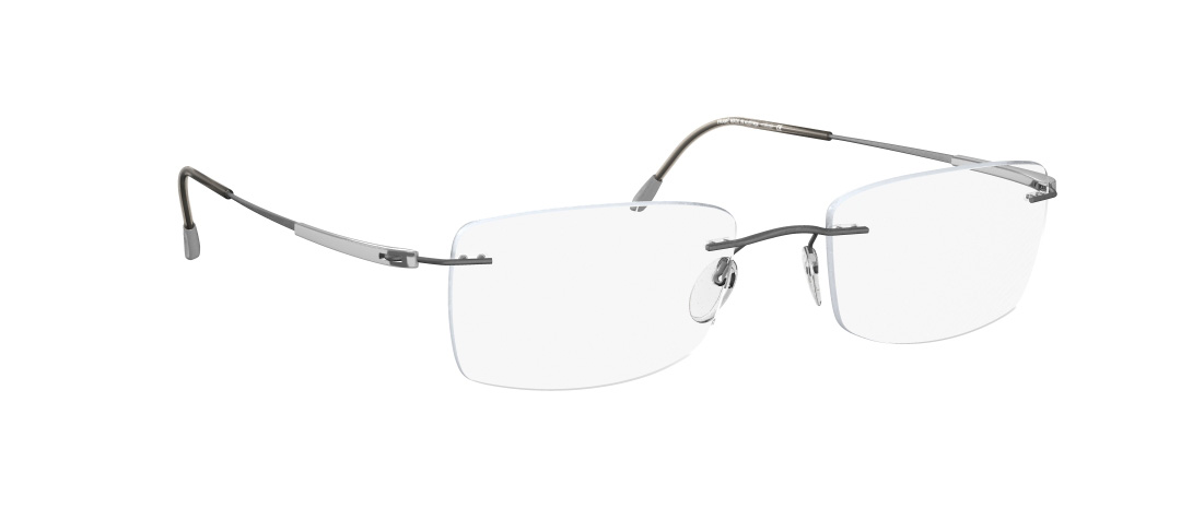 Silhouette Model: Titan Dynamics 5214, Colour Code: 6077, Frame Colour: SILVER MATT GREY
