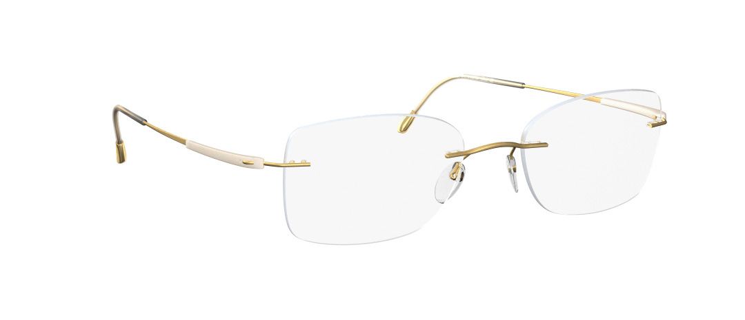 Silhouette Model: Titan Dynamics 4276, Colour Code: 6053, Frame Colour: Gold/Ivory
