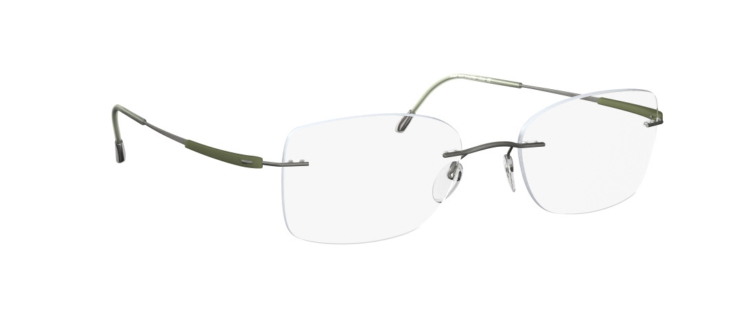 Silhouette Model: Titan Dynamics 4276, Colour Code: 6061, Frame Colour: Olive