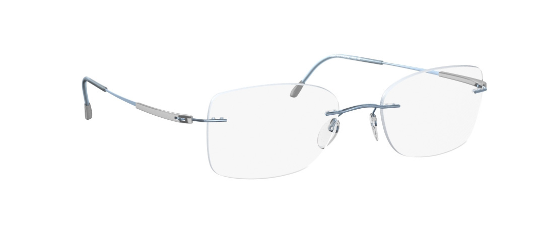Silhouette Model: Titan Dynamics 4276, Colour Code: 6073, Frame Colour: Light blue