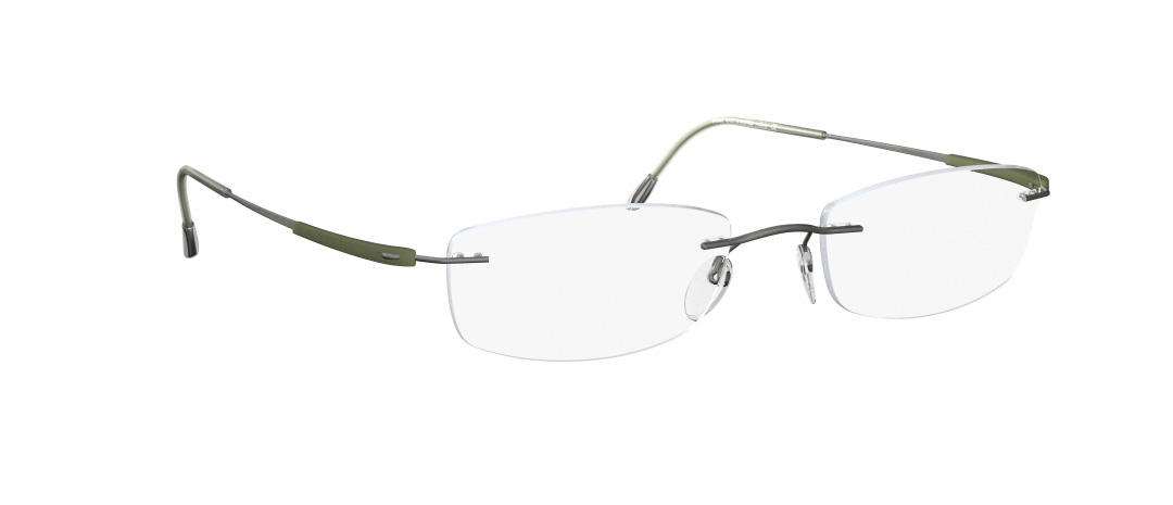 Silhouette Model: Titan Dynamics 5213, Colour Code: 6061, Frame Colour: Olive