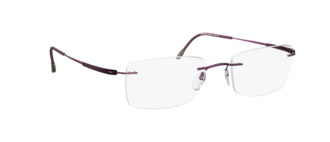 Silhouette Model: Titan Dynamics 5214, Colour Code: 6056, Frame Colour: Violet