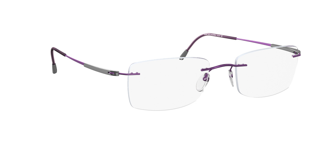Silhouette Model: Titan Dynamics 5214, Colour Code: 6072, Frame Colour: Purple