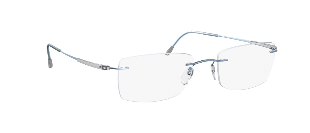 Silhouette Model: Titan Dynamics 5214, Colour Code: 6073, Frame Colour: Light blue