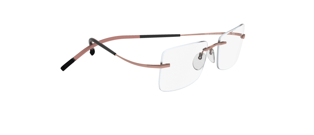 Silhouette Model: TMA Icon 7579, Colour Code: 6073, Frame Colour: Light pink