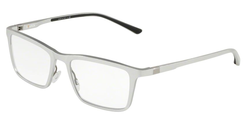 0874890466d Starck Eyes Model: SH 2031, Colour Code: 0001, Frame Colour: BRUSHED