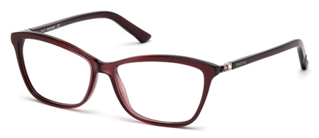 Swarovski Model: SK 5137V FAMOUS, Colour Code: 071, Frame Colour: Bordeaux