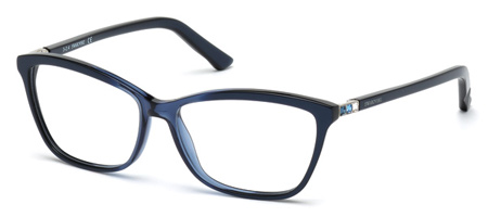 Swarovski Model: SK 5137V FAMOUS, Colour Code: 092, Frame Colour: Blue